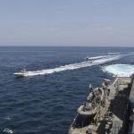 The Iranian Revolutionary Guard Navy Confronts the U.S. Navy in the Arabian Sea